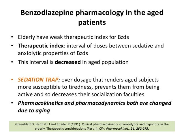 lorazepam dosing in the elderly