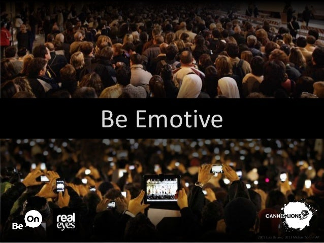Be on cannes   be emotive