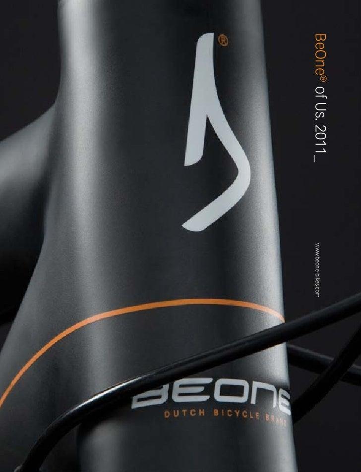 BeOne® of Us. 2011_   www.beone-bikes.com