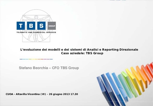 Caso aziedale - TBS Group