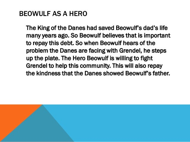 beowulf compared to modern day heroes essay