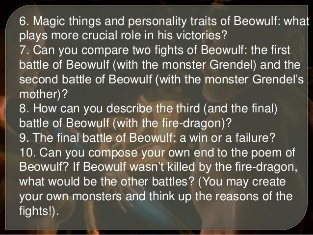 beowulf essays compare contrast Contrast of beowulf and grendel essaysthe epic is a long narrative poem that recounts the adventures of a hero who embodies the culture and ideals of the society in which the epic is based.