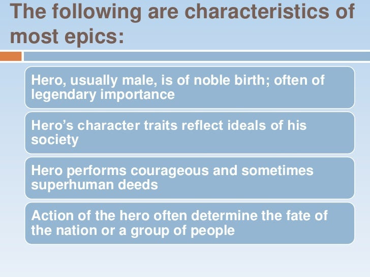 What are some characteristics of Beowulf?