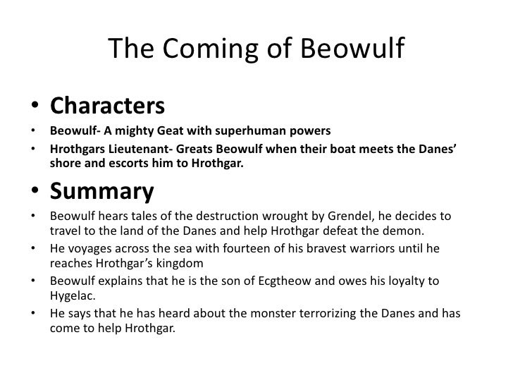 beowulf review