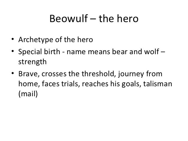 Beowulf Thesis Statements