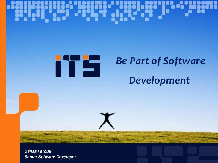 Be Part Of Software Development