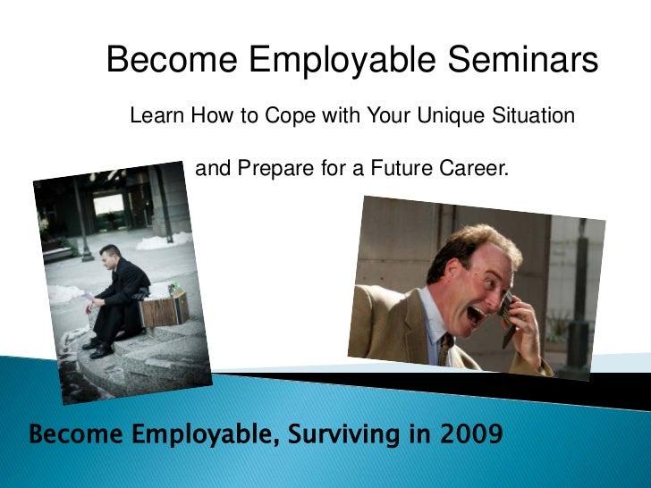 Become Employable Seminar