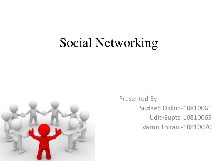 Be presentation   social network.61,65,70