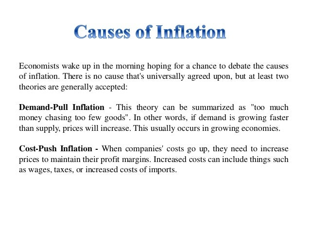 inflation always bad for an economy Causes of inflation: market power first, the economic agent could have  with competition, and the two do not always go hand in  for good or bad,.