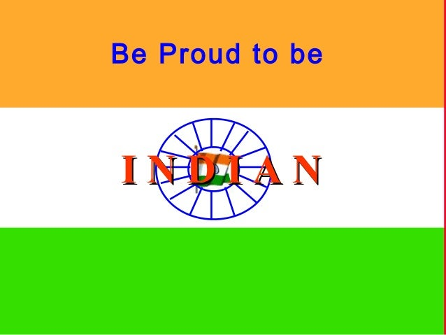 Be Proud to beINDIAN