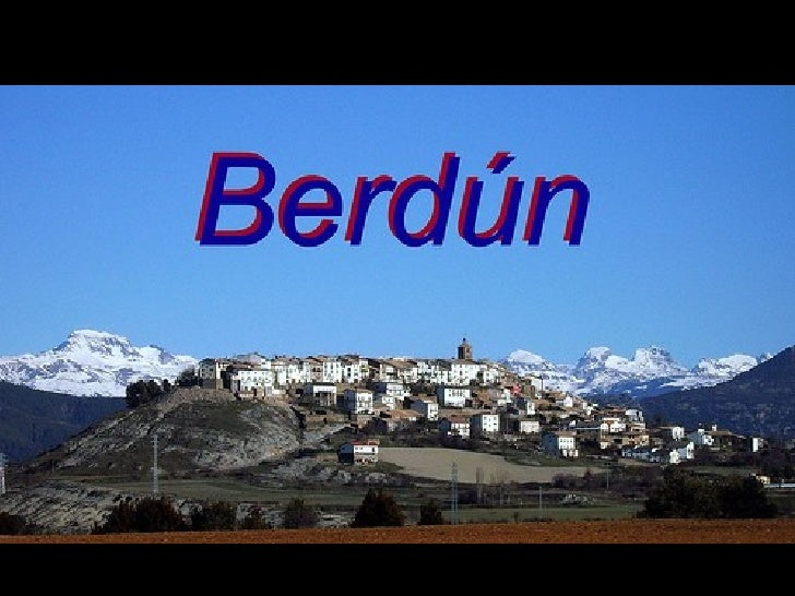 Berdun's school presentation