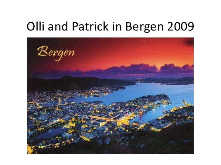 Olli and Patrick's trip to see Bruce Springsteen in Bergen