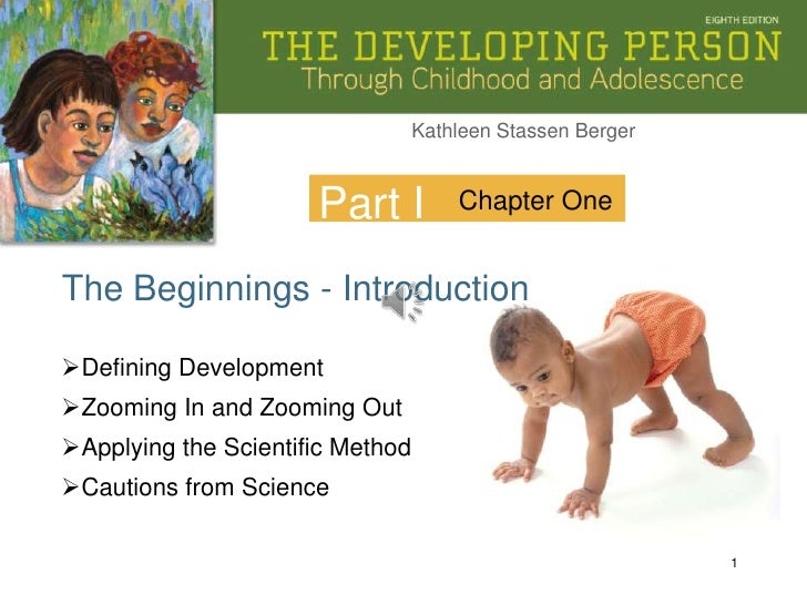 1<br />Part I<br />Chapter One<br />The Beginnings - Introduction<br /><ul><li>Defining Development