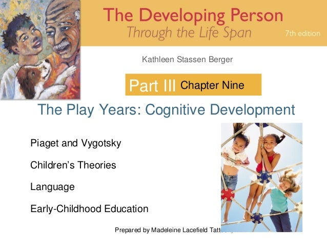 Prepared by Madeleine Lacefield Tattoon, M.A. 1 Kathleen Stassen Berger Part III The Play Years: Cognitive Development Cha...