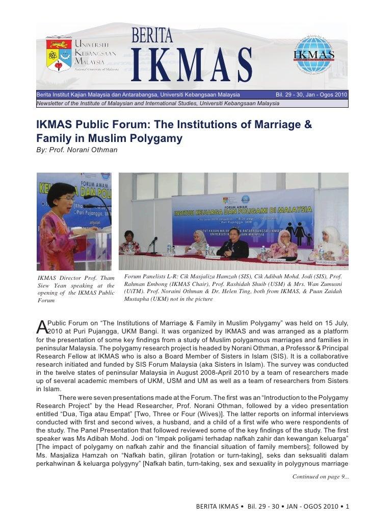 BERITA                                     IKMASBerita Institut Kajian Malaysia dan Antarabangsa, Universiti Kebangsaan Ma...