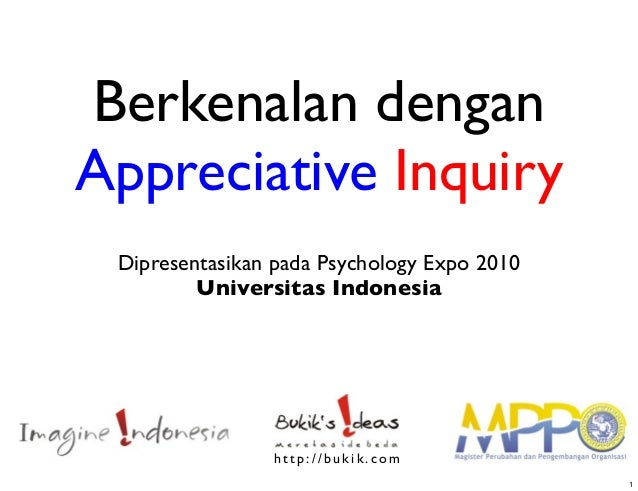 Berkenalan dengan appreciative inquiry