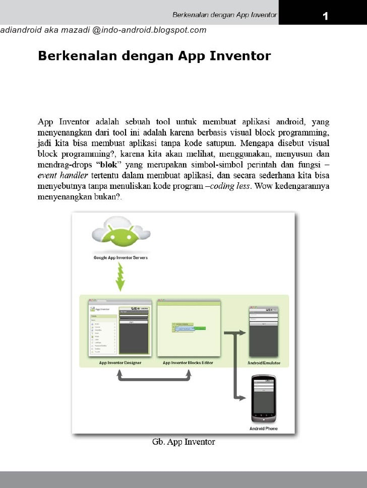 Berkenalan dgn App Inventor