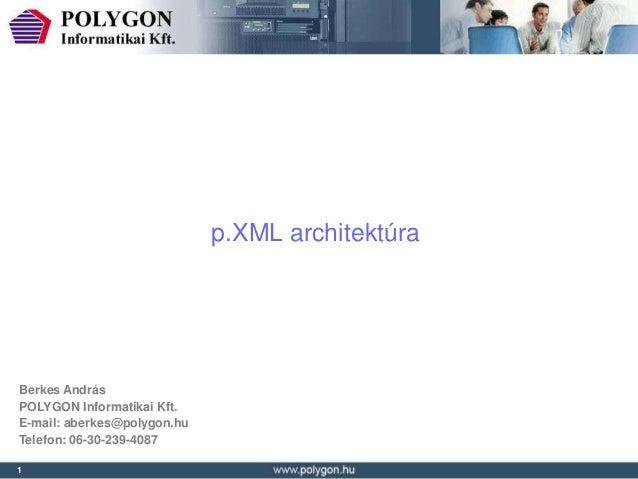 Berkes andrás pxml architektura 2013-01-16