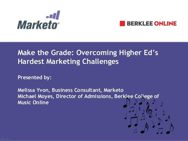 Make the Grade: Overcoming Higher Ed's Hardest Marketing Challenges