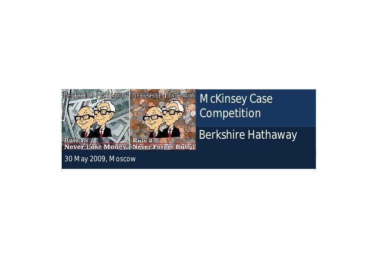 Marketing Strategy of Berkshire Hathaway