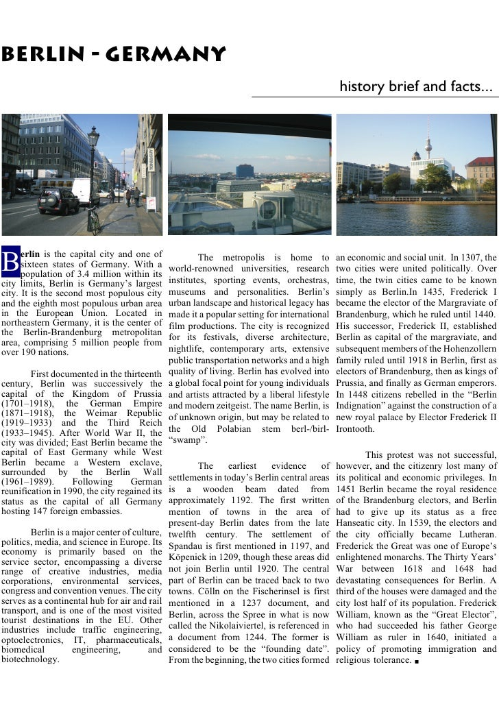 Publication Berlin