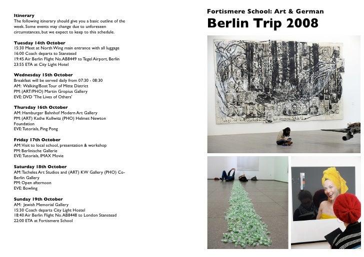 A2 Berlin Guide 2008