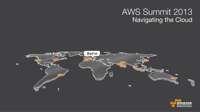 AWS Summit, 2nd MayDr. Werner Vogels, CTO, Amazon.comNetworking Reception and Partner ExpoBreakout Tracks9:30 - 11:00Lunch...