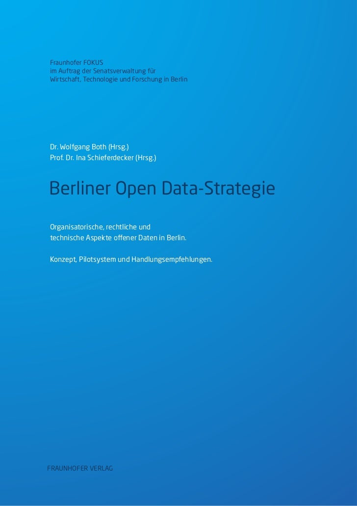 Berliner Open-Data-Strategie