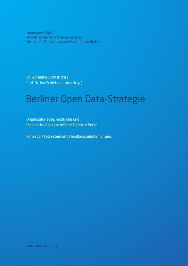 Berliner Open-Data-Strategie