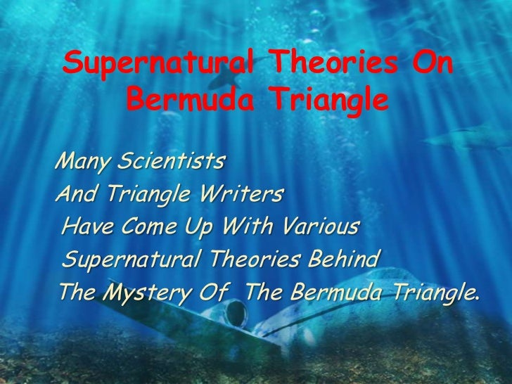 Essay on bermuda triangle