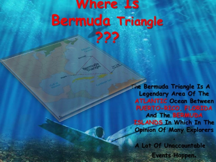 a research on the mysteries of the bermuda triangle Scientists may have finally cracked the greatest mystery behind the bermuda triangle how many creepy stories about the disappearing of airplanes and ships i.