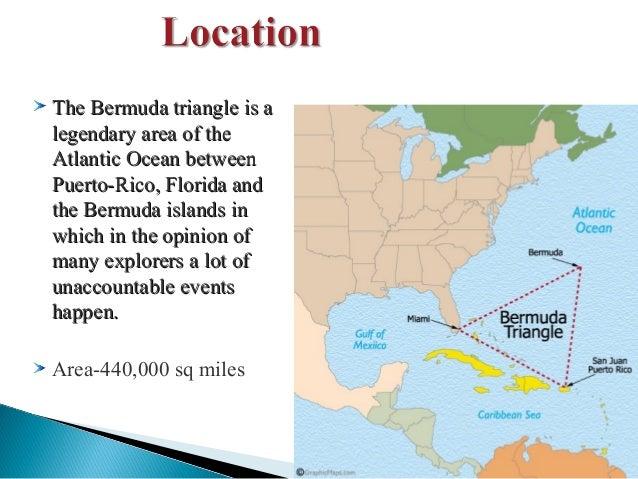 new research on bermuda triangle