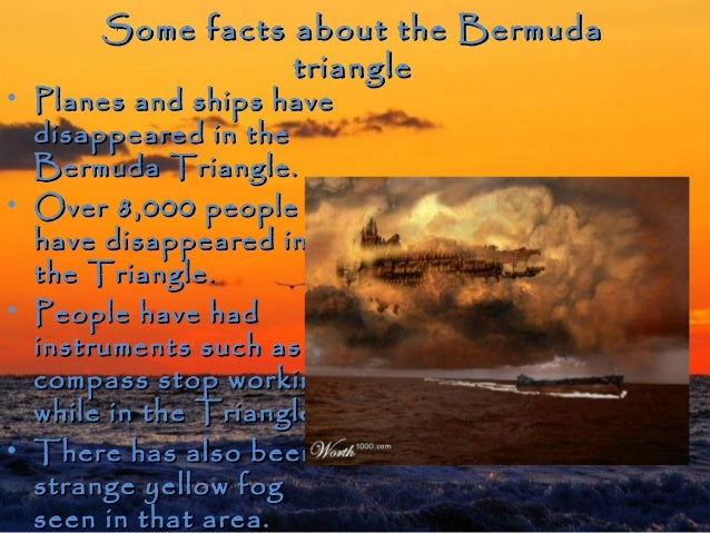 thesis statement on bermuda triangle Introduction to bermuda triangle     the bermuda triangle, situated between florida, bermuda and puerto rico has long been known as a region where many.