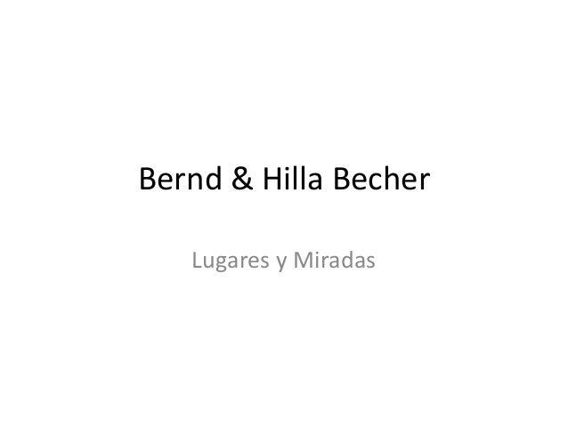 Bernd & hilla becher