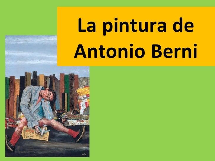 La pintura deAntonio Berni