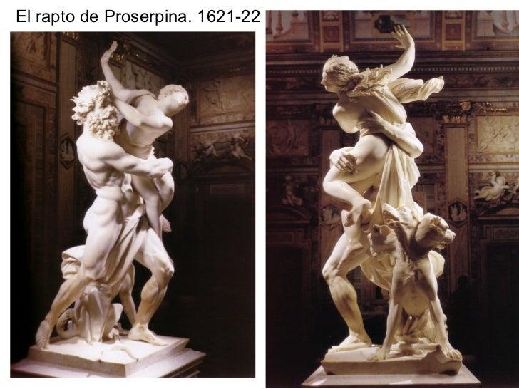 El rapto de Proserpina. 1621-22