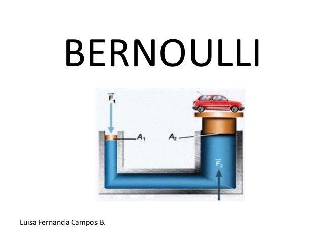 BERNOULLILuisa Fernanda Campos B.
