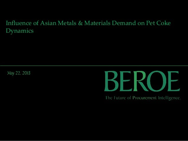 Beroe Present at Argus Asian Petcoke Conference Singapore