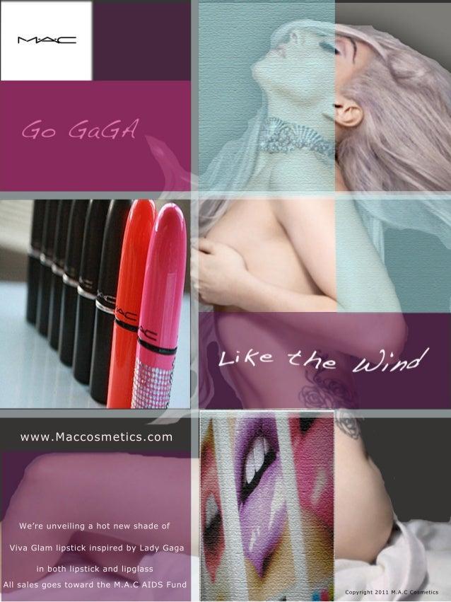 Mac Cosmetics Ad featuring Lady Gaga