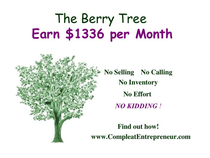 Berry Tree - Monthly Checks!