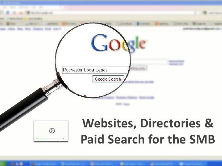 Websites, Directories & Paid Search for the SMB