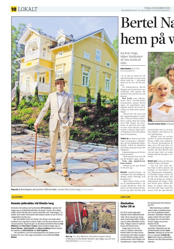 Bertel Nagubo: ÅUs mittuppslag 23.11.2010
