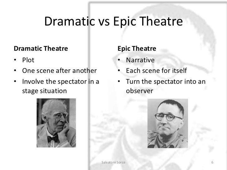 brecht epic theatre essay
