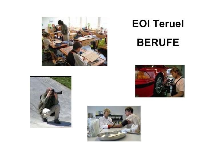 EOI Teruel BERUFE