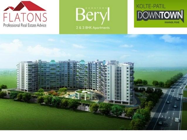 Pune Properties- Kolte Patil Beryl, Kharadi