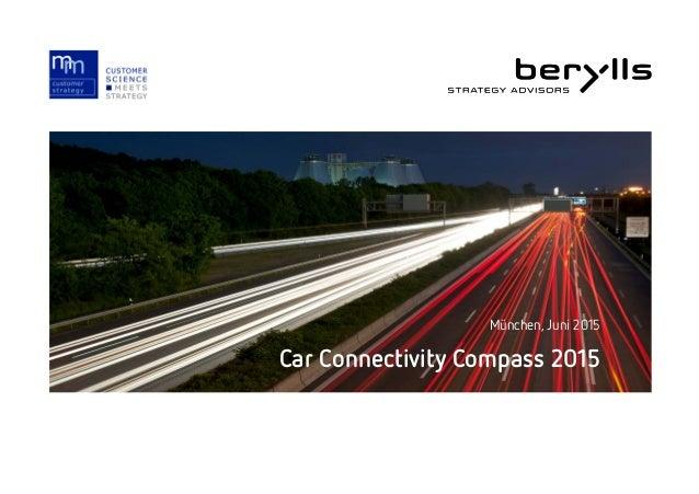 Car Connectivity Compass 2015 München, Juni 2015