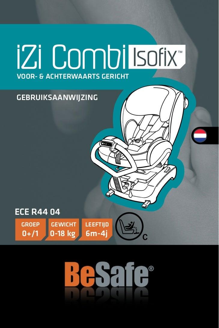 BeSafe combi Isofix handleiding