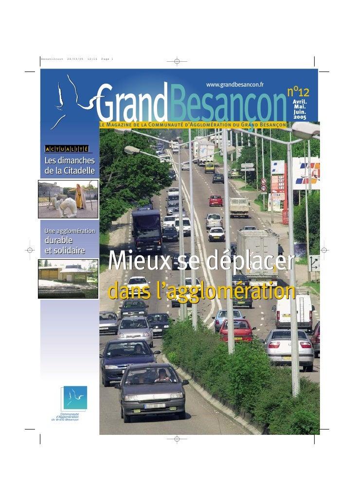 www.grandbesancon.fr                                   GrandBesançon                                                    n°...