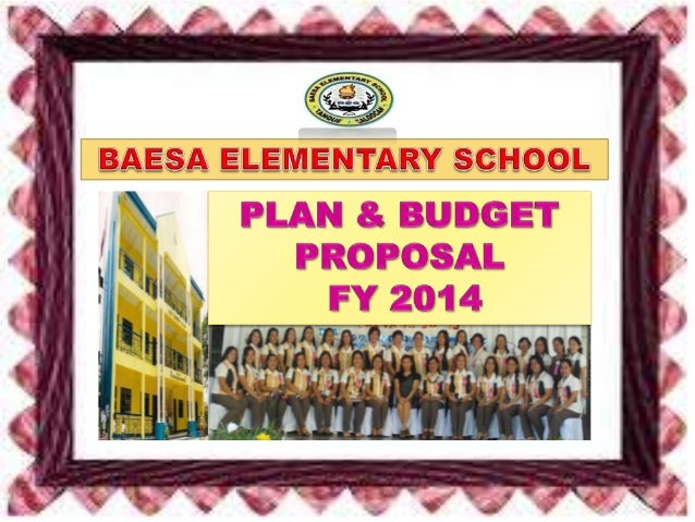 BES plan and budget  fy 2014