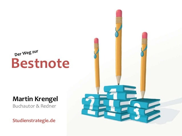 BestnoteMartin KrengelBuchautor & RednerStudienstrategie.de